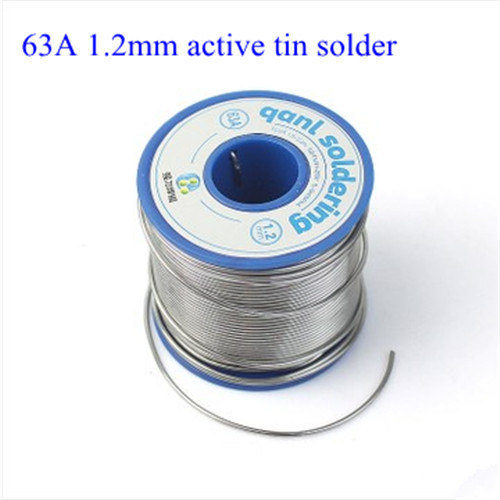 Free shipping New 63A 1.2mm Tin Solder 500g Melt Rosin Core Soldering Wire Reel flux wire weld soldering tin high quality W0009  цены