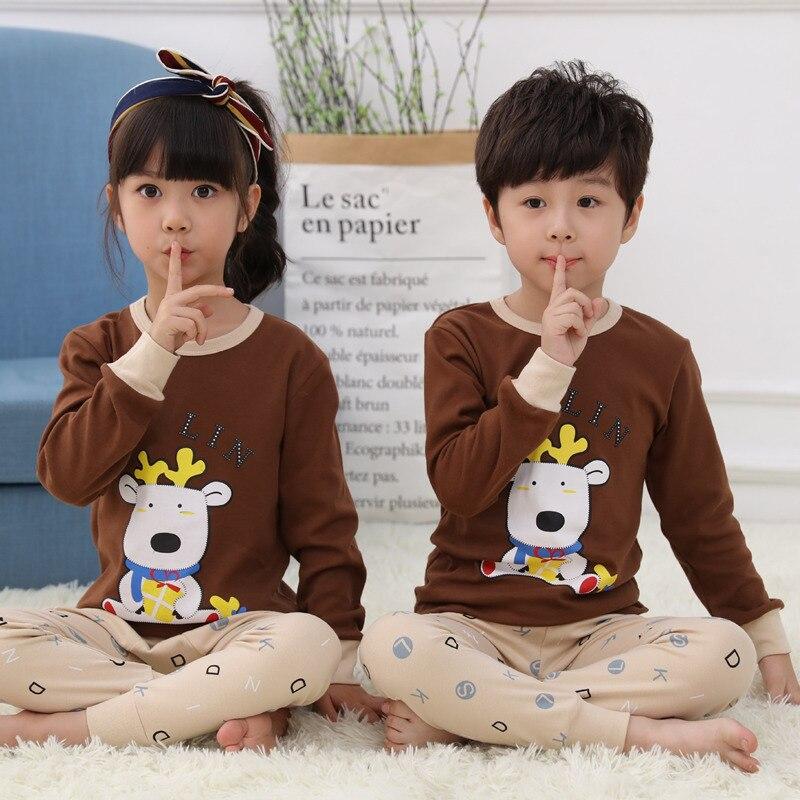 Saileroad meninos meninas pijamas conjunto crianças bonito