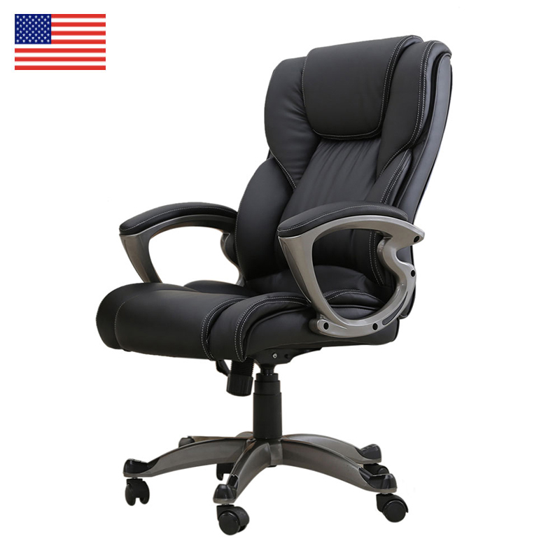 Office Chair High-end Graceful PU Leather Executive Chair Rotating lift gaming chair Fashion office furniture giantex pu leather ergonomic office chair armchair executive chair boss lift chair swivel chair office furniture hw10069