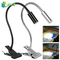 3W Gooseneck Mini Portable LED Book Reading Light Flexible Adjustable Metal Tubing USB Power LED Table Desk Lamp Clip on