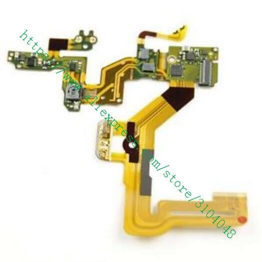 New for Sony Cyber-shot DSC-RX100V RX100 V RX100M5 RX100 M5 Flash Control Flex Cable Replacement Repair Part фотоаппарат sony cyber shot dsc rx10m2