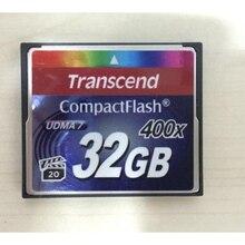 100% оригинал, карта Transcend 400X CF, реальная емкость, 32 ГБ, профессиональные карты памяти, компактная вспышка для камеры DSLR HD, 3D видео, 32 ГБ