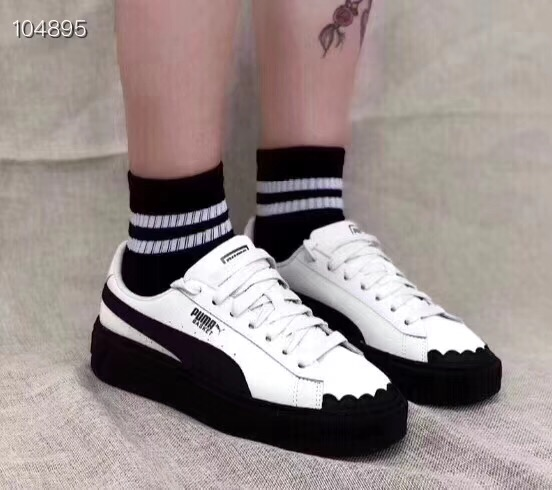 074ac6801634 2018 Free shipping New arrive Puma by Rihanna Suede Creepers men shoes  Breathable Badminton Shoes Sneakers size36 39-in Badminton Shoes from  Sports ...
