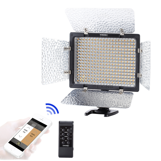Yongnuo YN300 III 3000k 5500K CRI 95% Camera Video LED Light for DSLR Camera Photography Photo Studio lighting free shipping yongnuo yn300 iii led 5500k camera video flash light yn300 iii for dslr camera olympus app yongguo np 750 5200mah