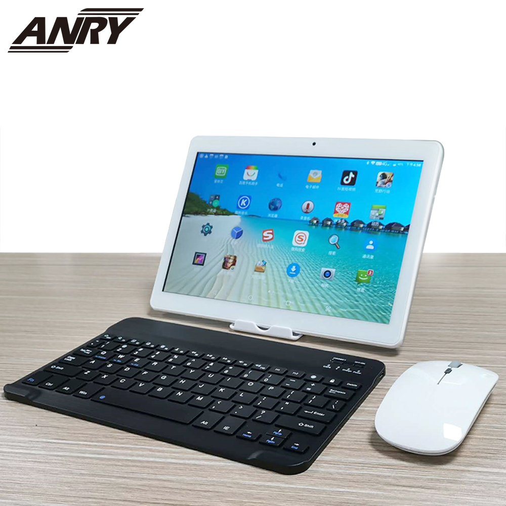 ANRY 4G Lte Octa Core 10.1 polegada tablet PC Phone call GPS Wifi tablet android RAM 4GB ROM 64GB Bluetooth mutlti toque Gift Pack