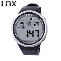LOX Selbst Kalibrierung Internet Timing Männer Sport Uhren Wasserdichte 100m Digitale Uhr Schwimmen Tauchen Armbanduhr Montre Homme