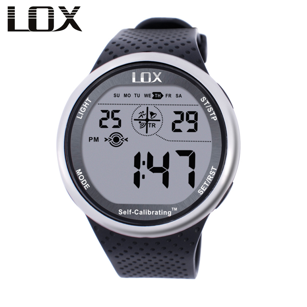 LOX Self Calibrating Internet Timing Heren Sport Horloges Waterdicht 100 m Digitaal Horloge Zwemmen Duiken Horloges Montre Homme