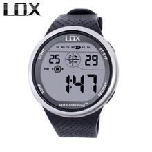 LOX самокалибрующиеся Интернет-часы мужские спортивные часы водонепроницаемые 100 м цифровые часы для плавания Дайвинг наручные часы Montre Homme