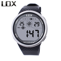 LOX Self Calibrating Internet Timing Men Sports Watches Waterproof 100m Digital Watch Swimming Diving Wristwatch Montre Homme