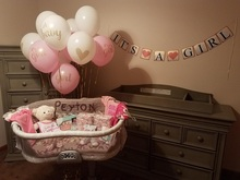 "Its a Boy girl Baby Shower Party Decorations &quotIts boy""&quotIts girl""  one year heart balloon set for Gende"