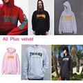 Pink Thrasher Hoodie Men Streetwear Tracksuit Skate Sudaderas Mens hoodies and sweatshirt magazine skateboard trasher jumper