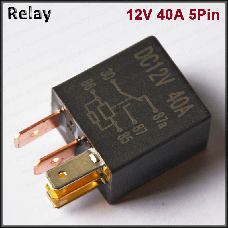 New Arrival 5pin 12v 24v 30a Car Flasher Relay Fix Led