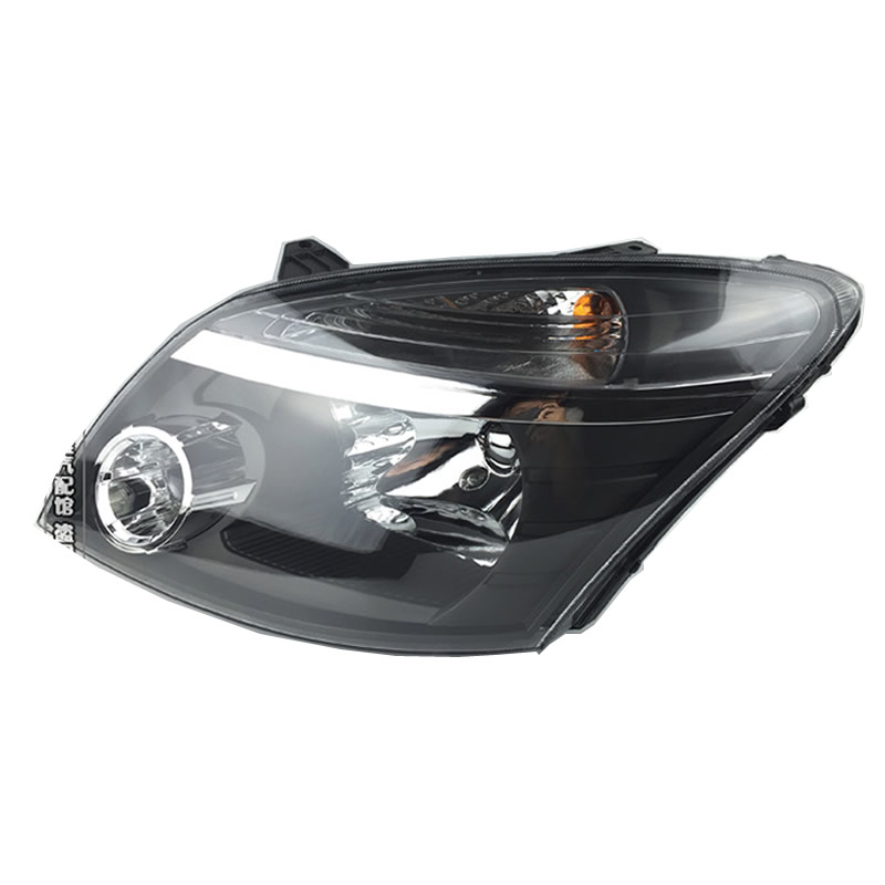 ФОТО headlights assembly front lights headlamp black for Great Wall hover CUV H3 haval