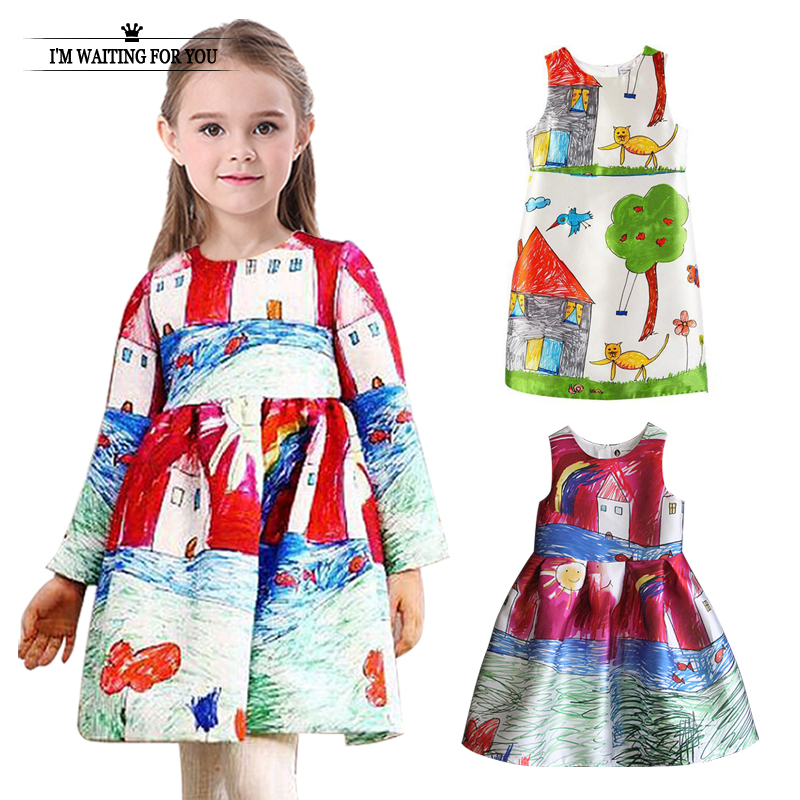 Aliexpress.com : Buy 2016 baby girl dress cotton kids clothes ...