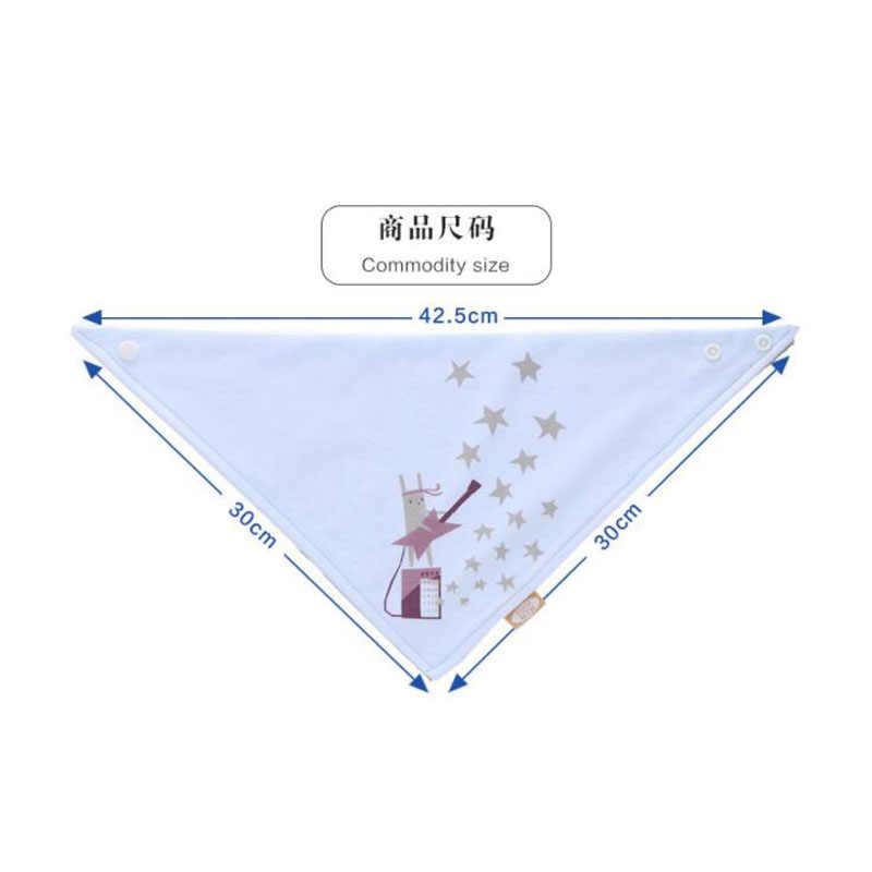Хлопковая бандана нагрудники для малышей Smock Infant Burp Cloths мультфильм слюнявчик полотенце детские принадлежности для еды мягкие детские вещи унисекс