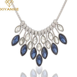 db1bd725e XIYANIKE Crystal Jewelry For Women Gift Necklaces Pendants