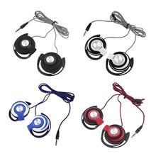 באיכות גבוהה אוזניות 3.5mm סטריאו מחשב נייד טלפון אוניברסלי סאב אוזניות כבד בס אוזניות Earhook אוזניות