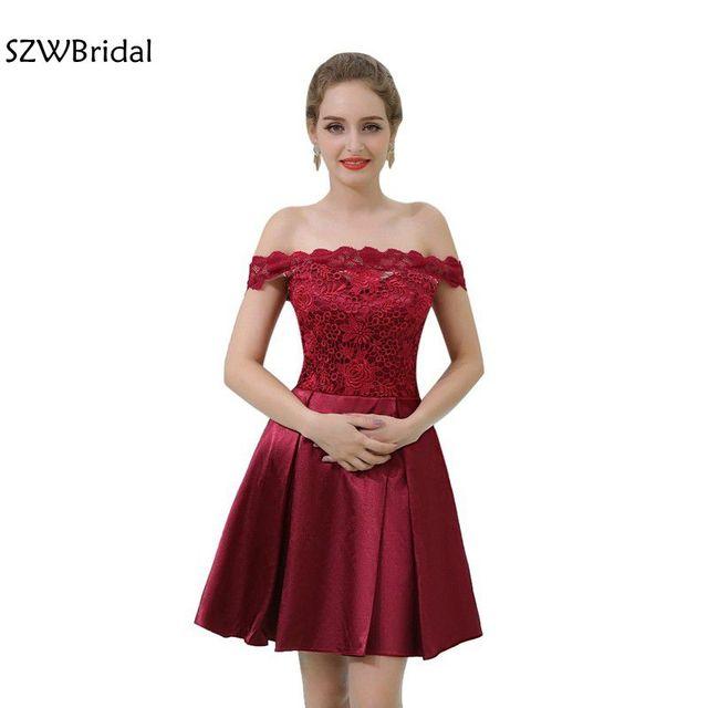 19861844d Nova Chegada vestido formatura Curto Vermelho vestidos de Baile 2019 Na  Altura Do Joelho vestido de
