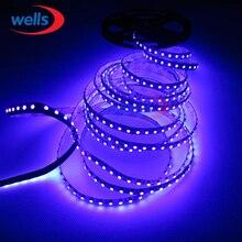 16.4ft 5M UV Ultraviolet led strip 395nm 3528 SMD Purple 600 LED Flex Strip Light Non Warterproof 12V
