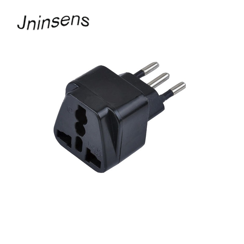 Common Brazil AC Wall Charger Power Plug UK US EU AU to Brazil Travel Adapter Outlet Converter Socket 3 Pin