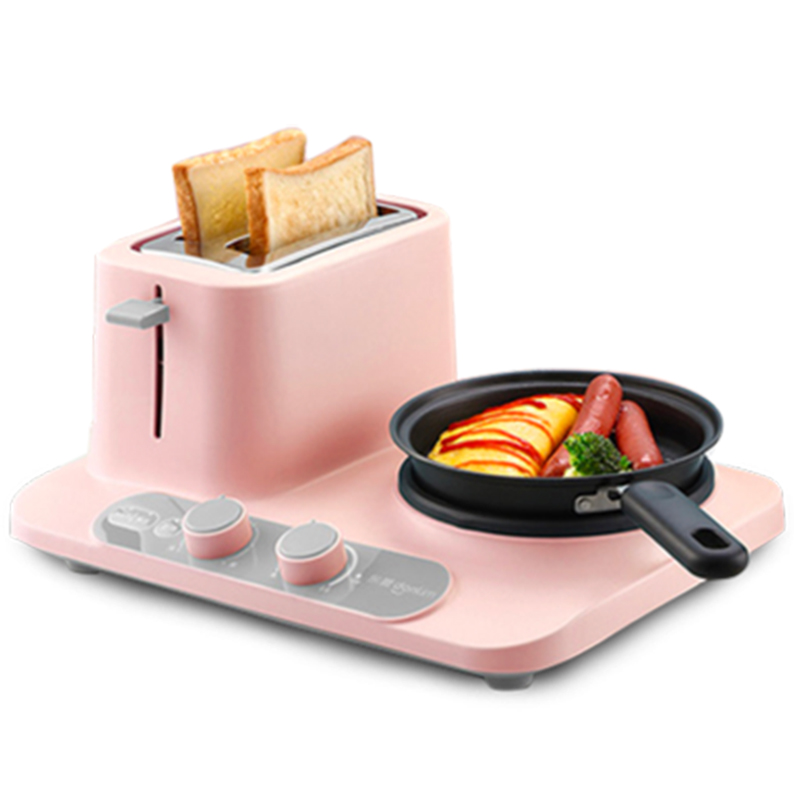 Multifunctional 3 In 1 Electric Cooker Simple Style Mini DIY Breakfast Machine Pot DL-3405