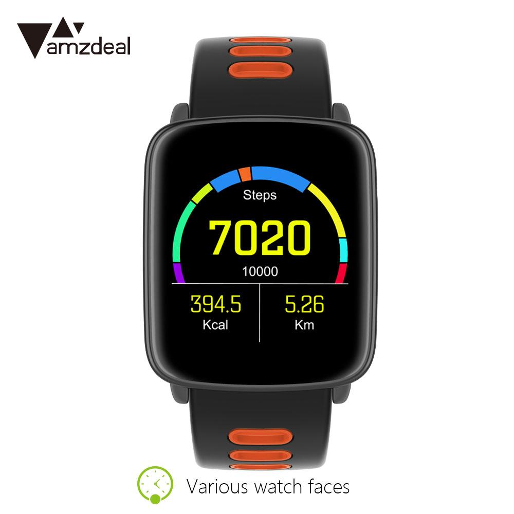 Pedomete Heart rate Tracker IP68 waterproof Phone Call MTK2502 Bluetooth wearable devices smart watch for Android iOS Gift hot sale newest waterproof bluetooth smart watch for apple android phone high quality smart health heart rate monitor wearable
