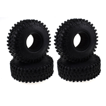 4Pcs RC Crawler 1.9 Inches Tires 120mm for 1/10 RC Car Buggy HPI HSP Traxxas 1 10 rc car on road tires w foam insert for hsp hpi tt01 1 10 rc car part 4pcs