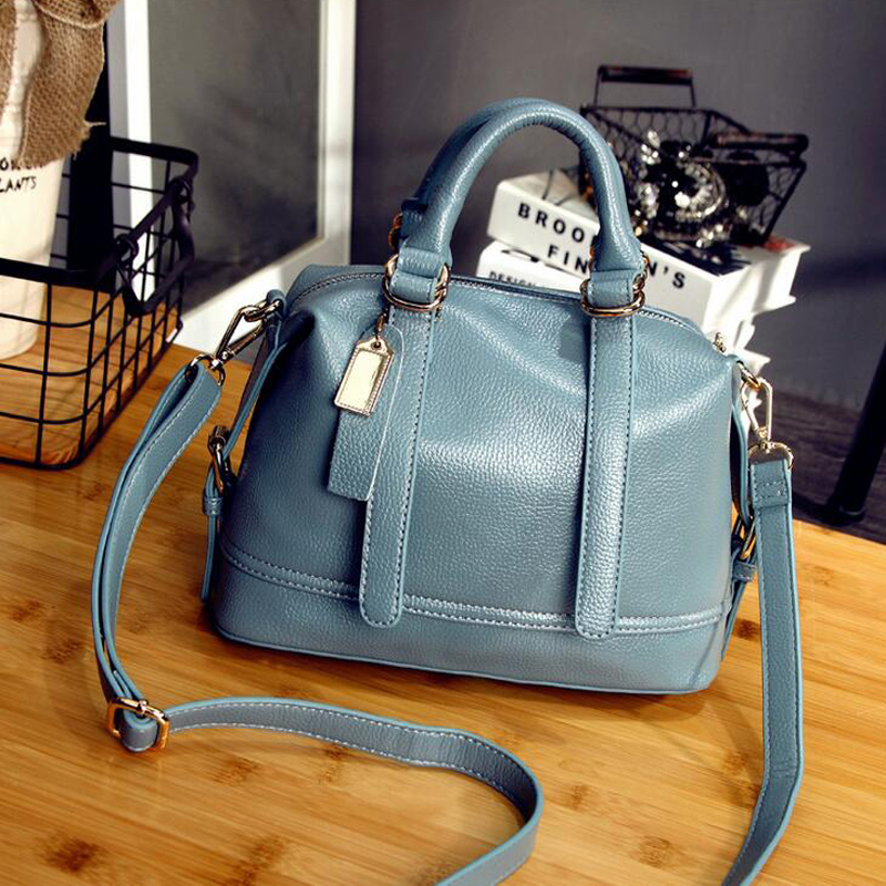 GESHILANXI Women PU Leather Handbag Shell bags Women shoulder Bags Crossbody Bags High Quality Famous Designer