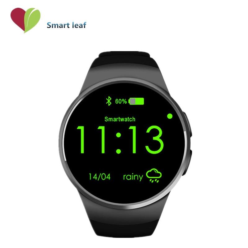 luxury Touch screen SIM Card Bluetooth Smart Watch KW18 For iPhone Samsung LG Sony Android smartwatch original reloj inteligente