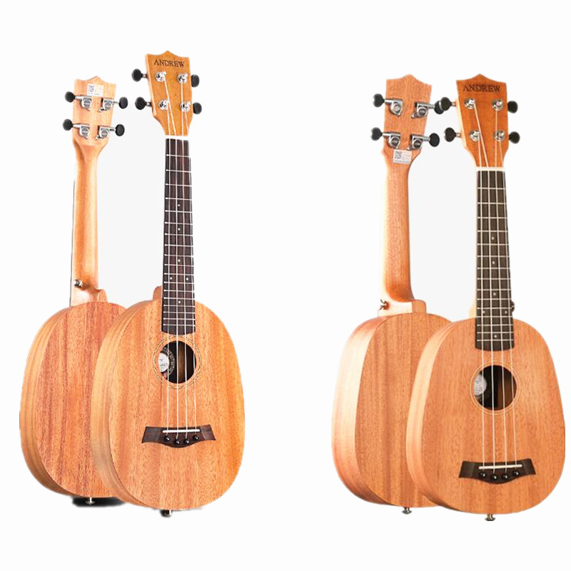Hot  Pineapple Ukulele Mahogany 21 inch Ukulele23 Small Guitar Student Female Graduation Gift U004 afanti music mahogany 23 inch ukulele dga 224