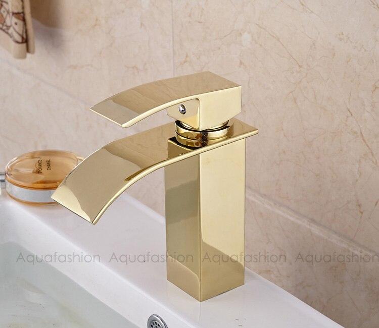 bathroom faucet gold (13)