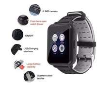 Bluetooth smart watch touch screen watch with camera SIM card TF card slot waterproof smart watch