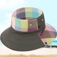 Yaz balıkçılık Kova Şapka erkekler açık rahat dağcı erkek kap şapka moda kadın yaz güneş şapka