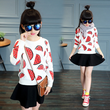 Autumn female child sweater child autumn and winter sweater children's clothing 8 girl long-sleeve 9 clothes 6-10-12 – 13 – 14