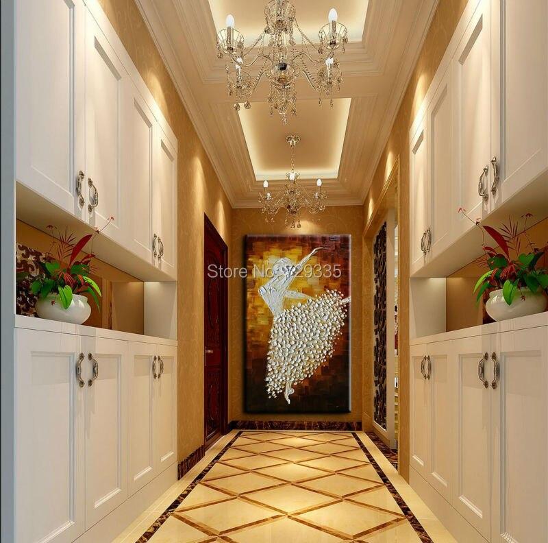 Νέα χειροποίητη σύγχρονη ζωγραφική - Διακόσμηση σπιτιού - Φωτογραφία 4