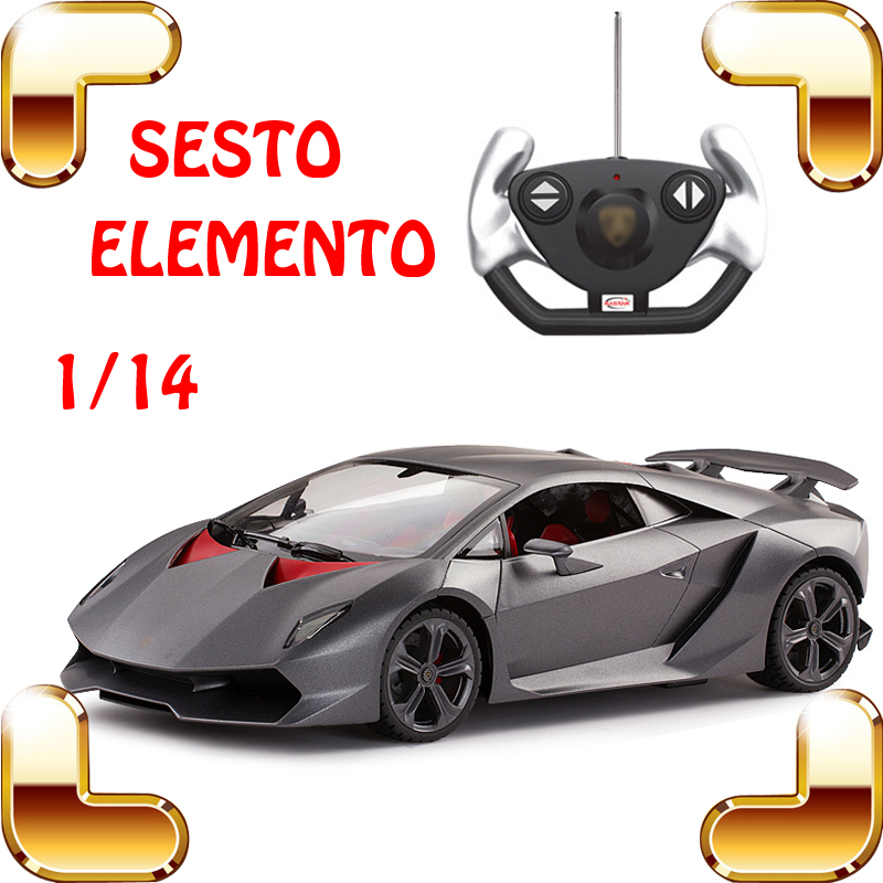New Year Gift 1/14 SESTO ELEMENTO RC Racing Roadster Vehicle Model Scale Motor Drift Machine Speed Drive Remote Toy