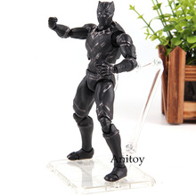 Marvel Captain America Civil War Hot Toys Black Panther Movable PVC Black Panther Figure Action Collection Model Toys for Boy