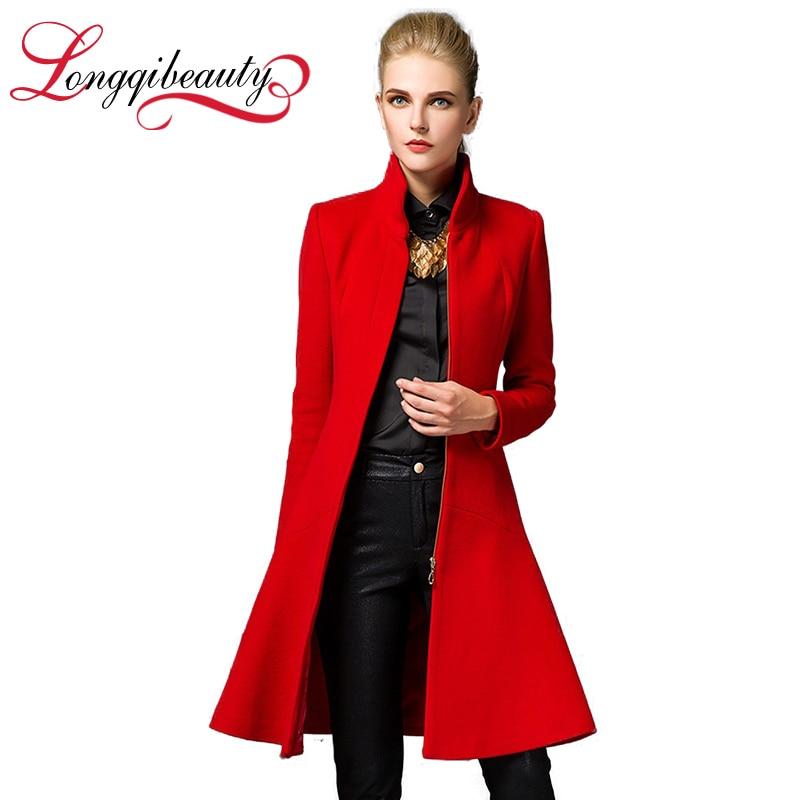 Long Wool Black Coat Promotion-Shop for Promotional Long Wool