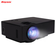 Noyazu E08 1800 Lumen LCD Full HD 1080p TV Video Home Cinema Projector Support Multi-screen Interaction Via Phone Data Cable