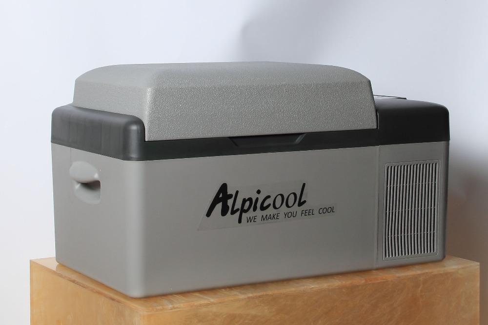Auto Mit Eingebautem Kühlschrank : Alpicool hohe qualität eingebaute batterie 20l kapazität dc