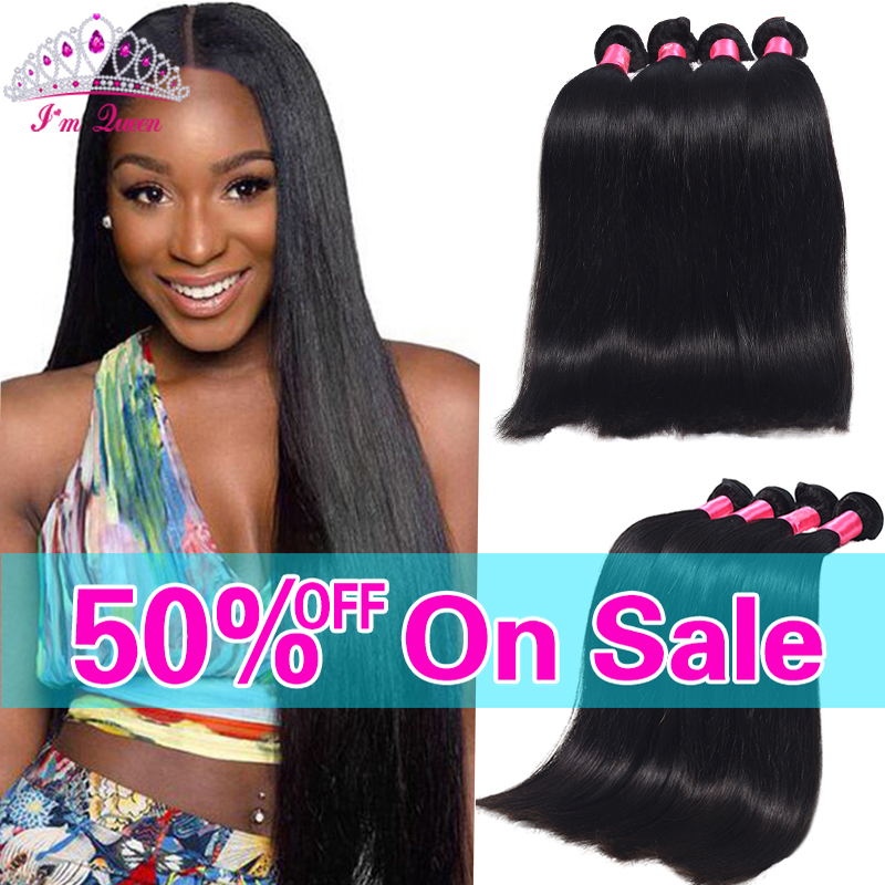 7A Peruvian Virgin Hair Straight 4Bundles Peruvian Straight Virgin Hair 100% Human Hair Soft Peruvian Straight Hair