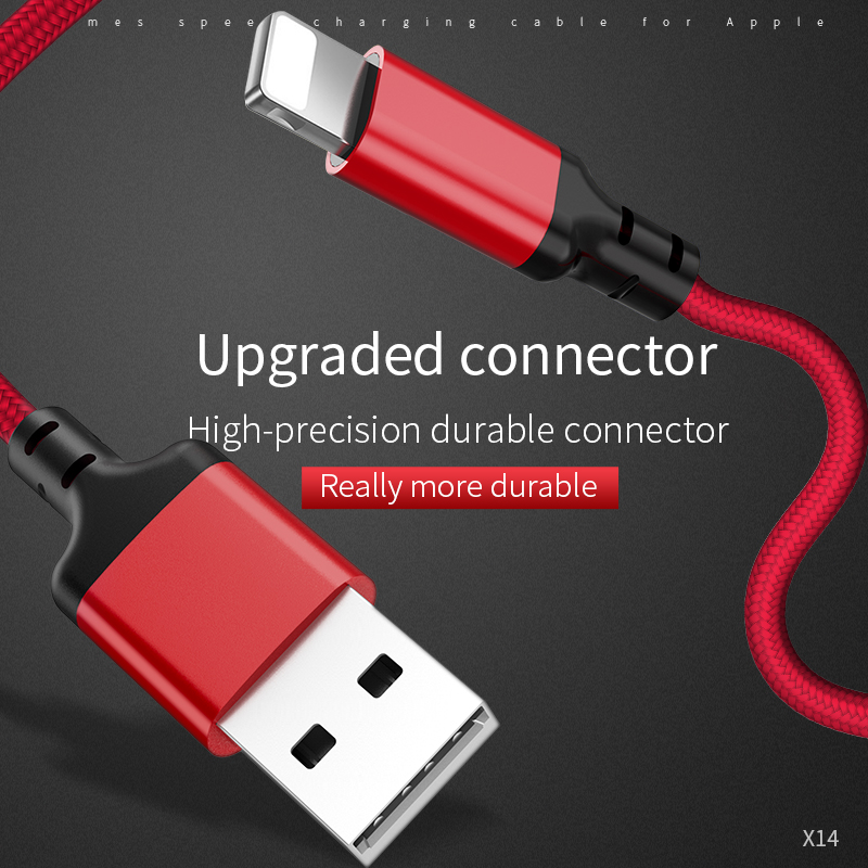 Image 2 - HOCO Best USB Cable Charging for iPhone 8 7 6 5 plus USB Cable Fast Charger Data Cable For iPhone 11 Pro X XS Max XR iPad Cables-in Mobile Phone Cables from Cellphones & Telecommunications