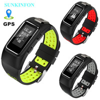 DB10 GPS Motion Track Record Sport Heart Rate Monitor Smart Band Real Time Activity Fitness Sleep