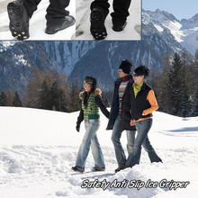 Buy Silicone Non-Slip Shoe Grip Newest Cleat Ice Gripper Anti Slip Ice Snow Walking Shoe directly from merchant!