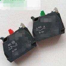 10 шт. XB4 кнопочный переключатель Контактный блок нормально открытый НЕТ Нормально закрывает NC ZBE101C ZBE102C ZBEE-101C ZBEE-102C