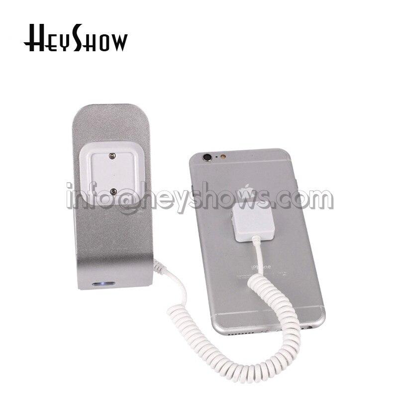 10 STK Simple Metal Mobiltelefon Sikkerhed Display Alarmstativ med - Sikkerhed og beskyttelse - Foto 5