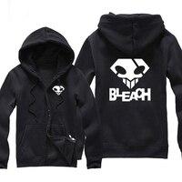 Japan Anime Manga Bleach Death Note L Letter Print Men Hoodie Hooded Sweatshirt Printed Hoodies And