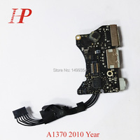 Genunie 2010 Year A1370 Power Audio Board For Apple Macbook Air 11'' A1370 USB I/O Power Dock Jack 820 2827 B MC505 MC506