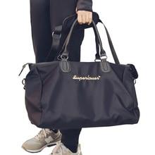 купить New Outdoor Shoulder Handbag Gym Bag Sports Bags Men Women Travel Bag Fitness Training Yoga Bags Duffel Luggage Purse Sac De по цене 1756.21 рублей