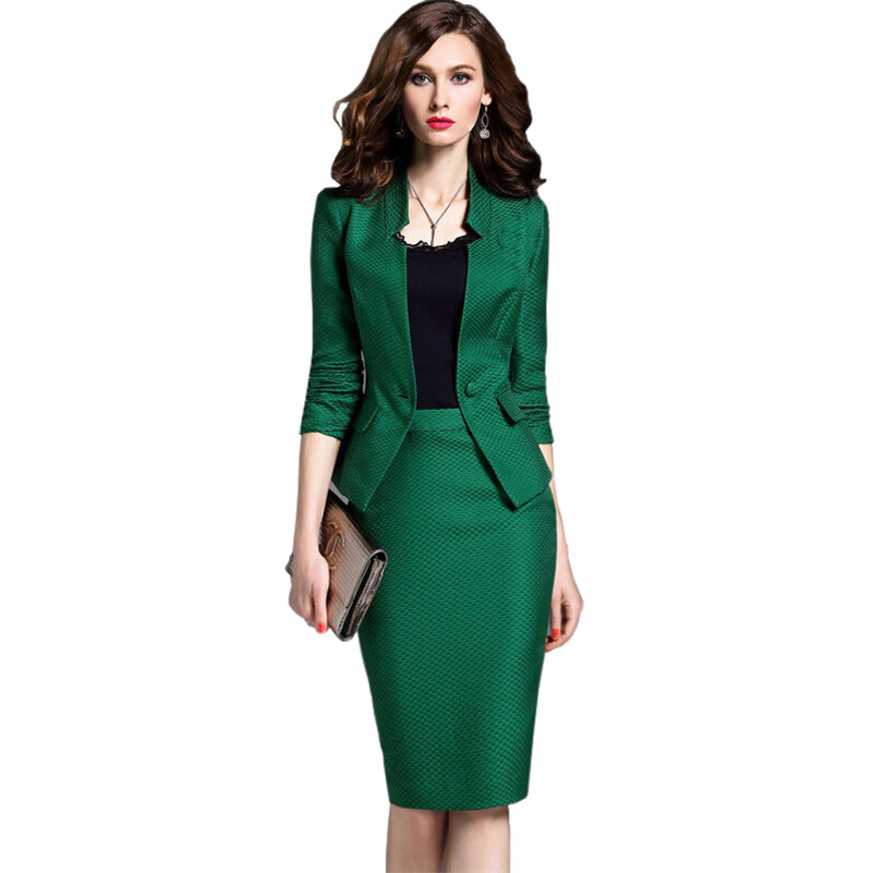 Online Get Cheap Womens Pencil Skirt Blazer -Aliexpress.com ...